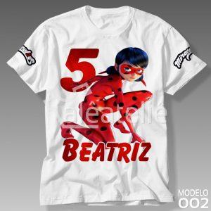 Camiseta Miraculous 002