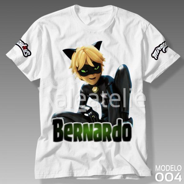Camiseta Cat Noir Personalizada