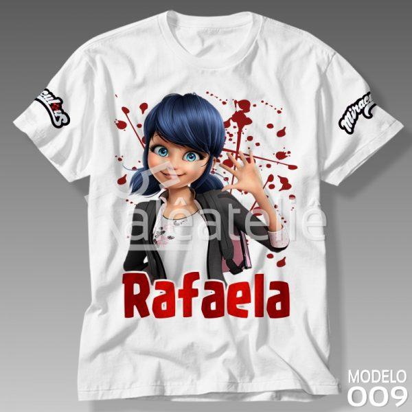 Camisa Miraculous Personalizada