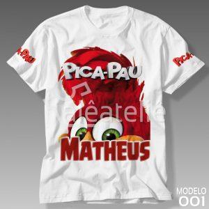 Camiseta Pica Pau 001
