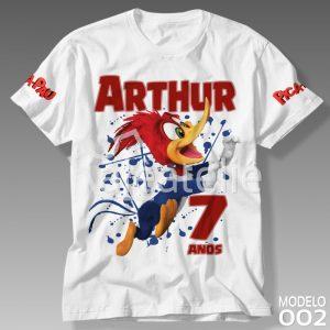 Camiseta Pica Pau 002