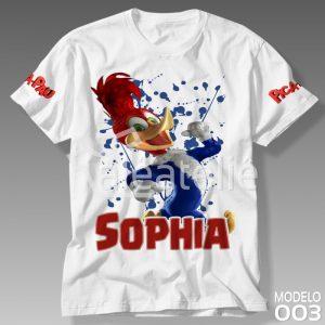 Camiseta Pica Pau 003