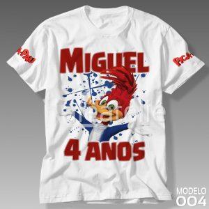 Camiseta Pica Pau 004
