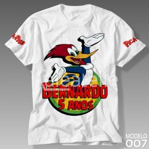 Camiseta Pica Pau 007