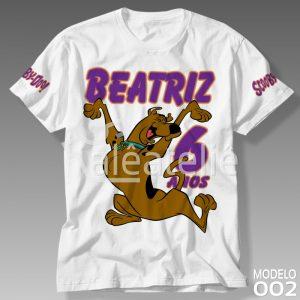 Camisa Scooby Doo Personalizada