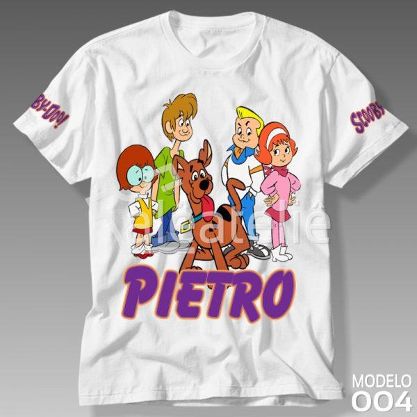 Camiseta Scooby Doo Infantil