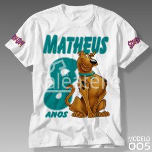 Camiseta Scooby Doo Aniversário