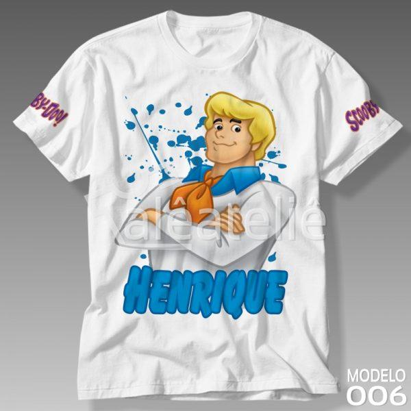 Camiseta Scooby Doo Fred