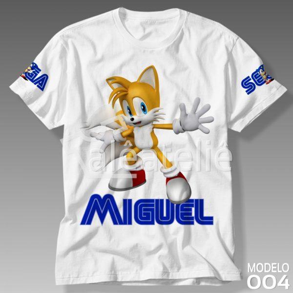Camiseta Sonic Tails