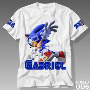 Camiseta Sonic the Hedgehog