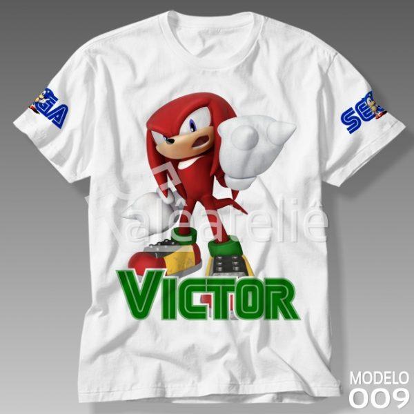 Camiseta Sonic Knuckles