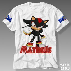 Camiseta Sonic Shadow