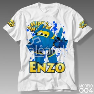 Camiseta Super Wings Jerome