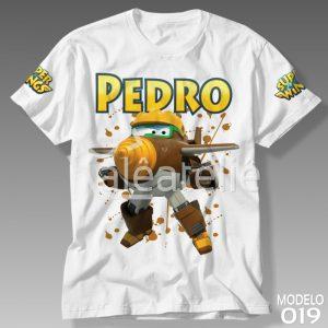 Camiseta Super Wings Todd