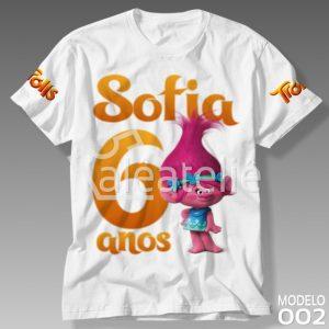Camiseta Trolls 002