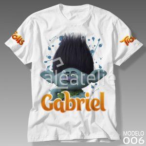 Camiseta Trolls 006