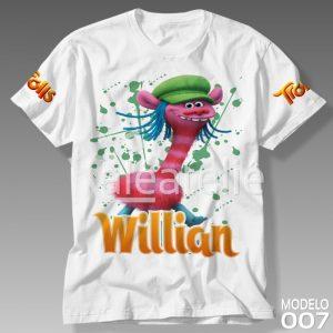 Camiseta Trolls Cooper