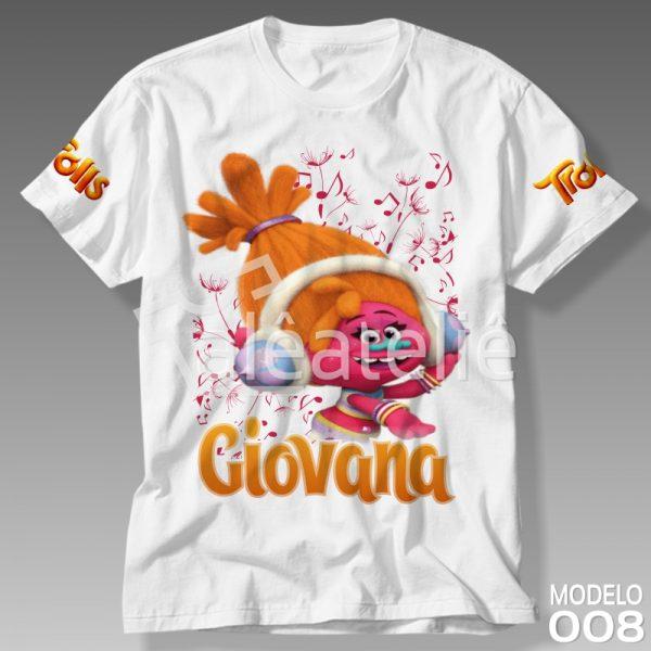 Camiseta Trolls DJ Suki