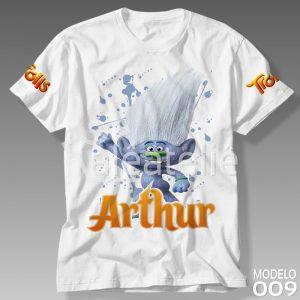 Camiseta Trolls 009
