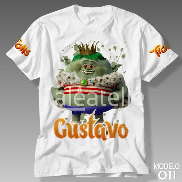 Camiseta Trolls Gristle