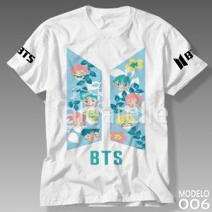 Camiseta Bts Kpop Personalizada