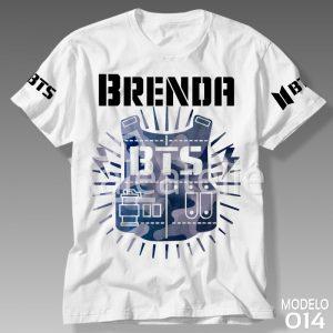 Camiseta Bts Kpop 014