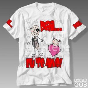 Camiseta Dia dos Pais 003