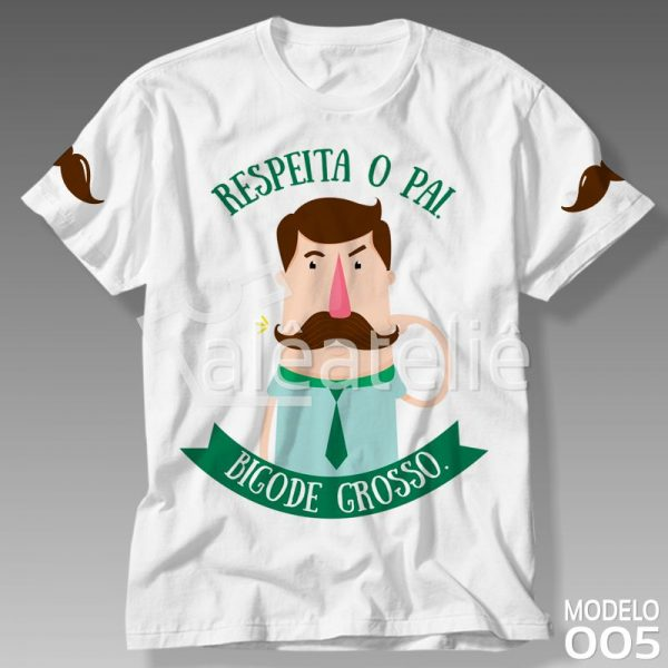 Camisa Pai Bigode Grosso