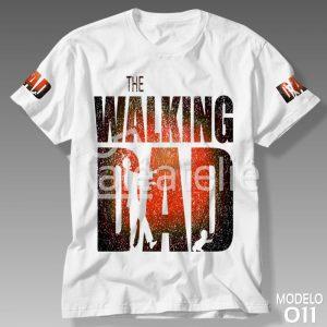Camiseta Papai The Walking Dad