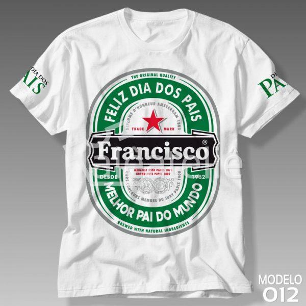 Camiseta Dia dos Pais Cerveja