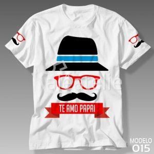 Camiseta Te Amo Papai