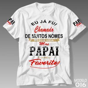 Camiseta Dia dos Pais 016