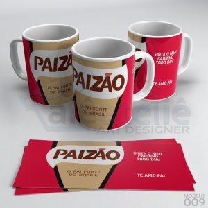 Caneca Café Paizão Te Amo Pai