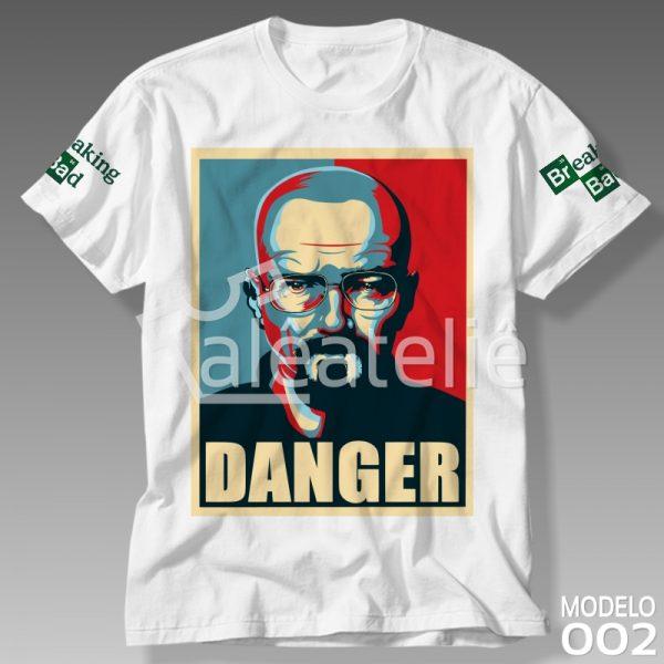 Camiseta Breaking Bad Danger