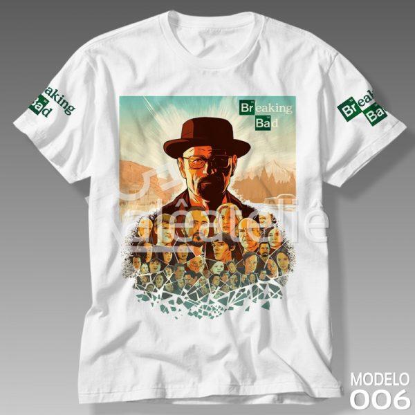 Camiseta Série Breaking Bad