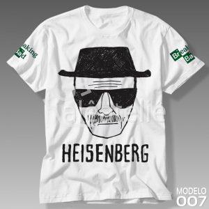 Camiseta Breaking Bad Heisenberg