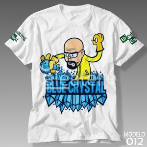 Camiseta Breaking Bad Blue Crystal