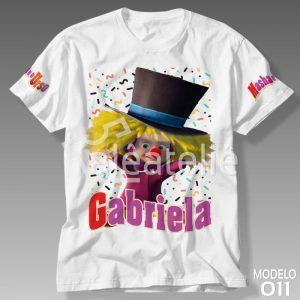 Camiseta Masha Urso Circo
