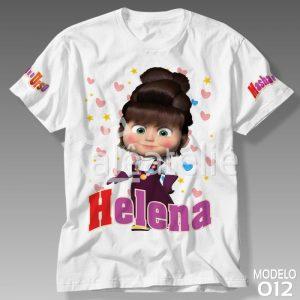 Camiseta Masha e Urso 012