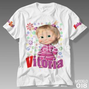 Camiseta Masha e Urso 018