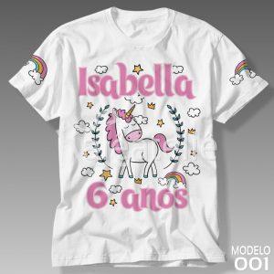 Camiseta Unicórnio 001