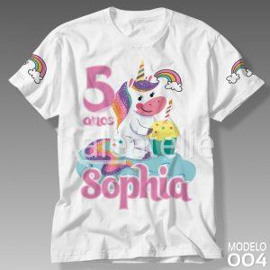 Camiseta Unicórnio 004