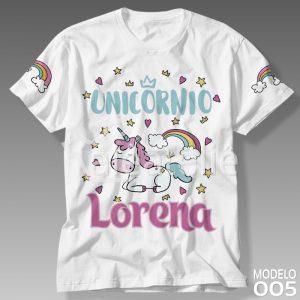 Camiseta Unicórnio 005
