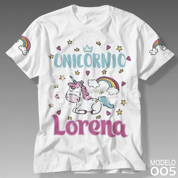Camiseta Unicórnio Feminina