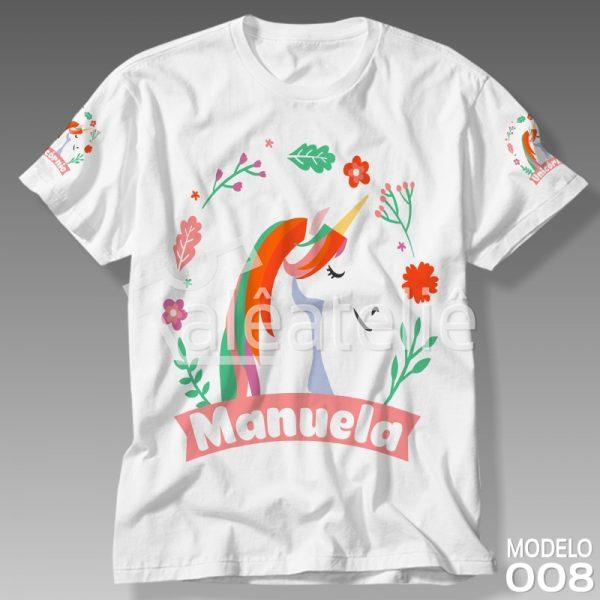 Camisa Unicórnio Feminina