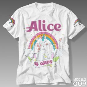 Camiseta Unicórnio 009