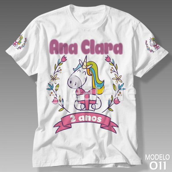 Camiseta Unicórnio Festa