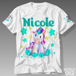 Camiseta Unicórnio 012