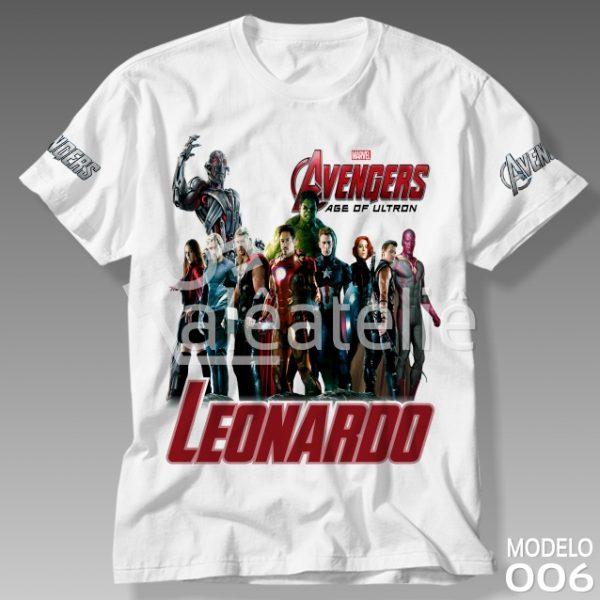Camiseta Vingadores Era de Ultron