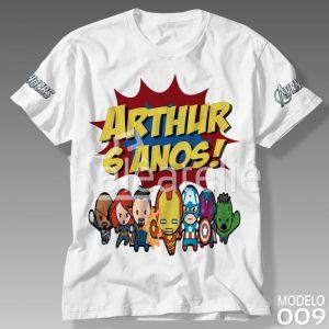 Camiseta Vingadores 009